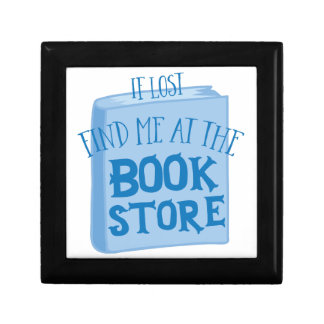 if lost find me at the book store gift box