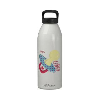 If Lost Return Reusable Water Bottle