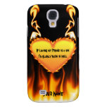 If loving my Iphone is a sin. Galaxy S4 Cover