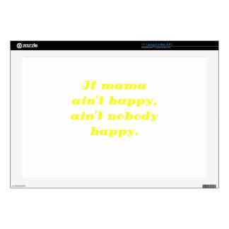 If mama aint happy aint nobody happy laptop decals