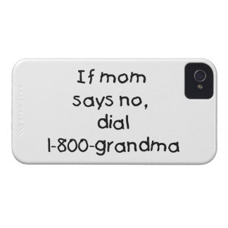 if mom says no...(black) Case-Mate iPhone 4 cases