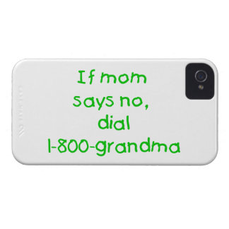 if mom says no...(green) Case-Mate iPhone 4 cases