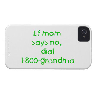 if mom says no...(green) Case-Mate iPhone 4 case