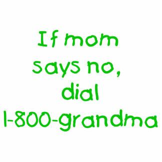 if mom says no...(green) photo cutout