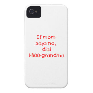 if mom says no...(red) iPhone 4 covers
