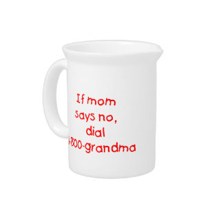 if mom says no...(red) drink pitcher