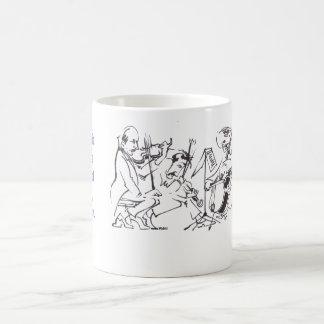 If music be the food of love, play on. coffee mug