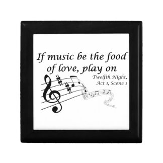 If Music be the Food of Love, Play On! Gift Box