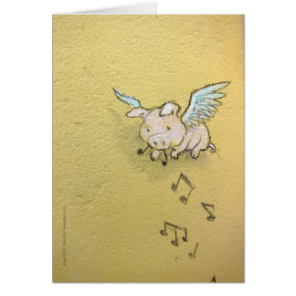 if music be the slop of love greeting card
