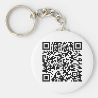 if my heart does not bark basic round button keychain