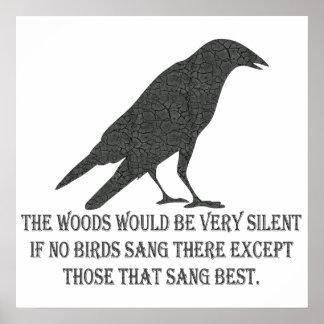 If No Birds Sang Poster