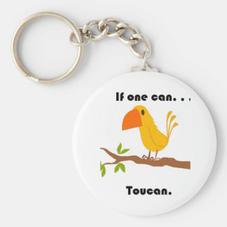 If One Can. . .Toucan Cartoon Keychain