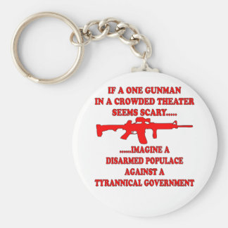If One Gunman In A Theater Is Scary Imagine A Keychain