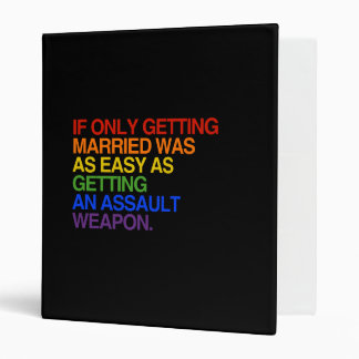 IF ONLY GETTING MARRIED WAS EASY - - png Vinyl Binder