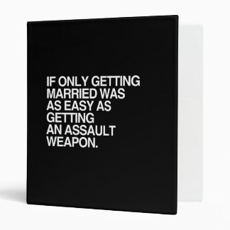 IF ONLY GETTING MARRIED WAS EASY - png Binder