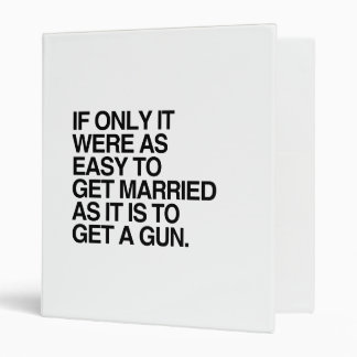 IF ONLY IT WERE AS EASY TO GET MARRIED - png Binder