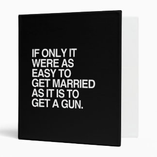 IF ONLY IT WERE AS EASY TO GET MARRIED - png Binders