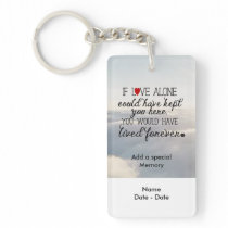 IF Pet Memorial Keychain