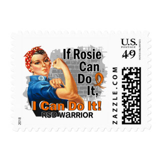 If Rosie Can Do It RSD Warrior Postage Stamps