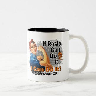 If Rosie Can Do It RSD Warrior Two-Tone Coffee Mug
