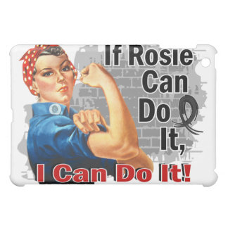 If Rosie Can Do It Skin Cancer Warrior iPad Mini Cover