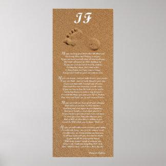 If - Rudyard Kipling Poem Print