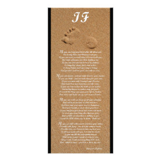 If - Rudyard Kipling Poem Rack Card