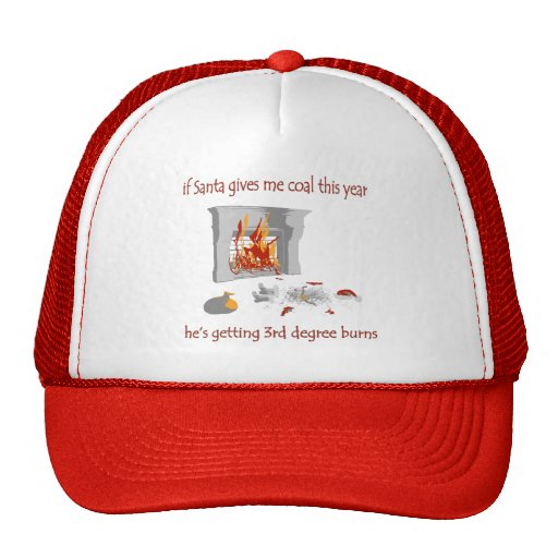 If Santa Gives Me Coal This Year Trucker Hat