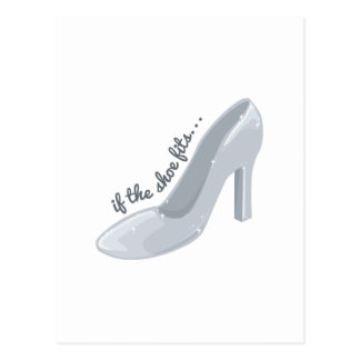 If Shoe Fits Postcard