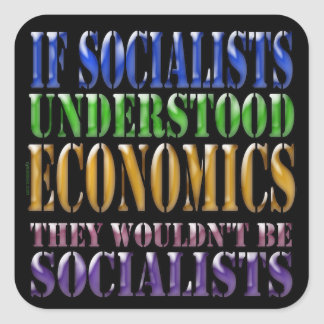 If socialists understood economics... sticker