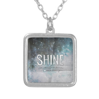 If Stars Shine In Darkness inspirational Custom Necklace