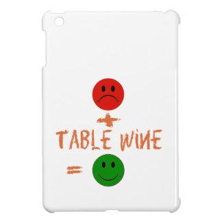 if Table Wine with me, i am happy iPad Mini Cases