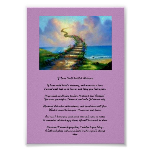 If Tears Could Build A Stairway Print