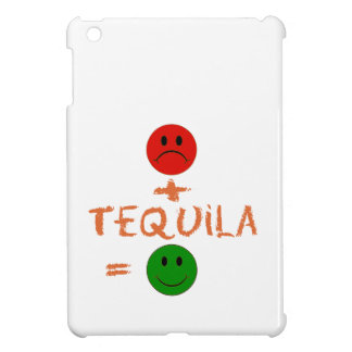if Tequila with me, i am happy Cover For The iPad Mini