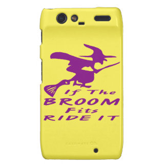 If The Broom Fits Ride It Witch Motorola Droid RAZR Cover