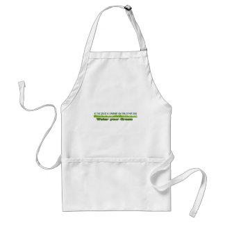 if the grass is greener apron