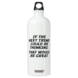 If The Next Trend Could Be Thinking Water Bottle
