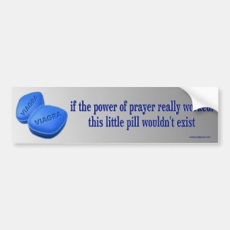 if the power of prayer...