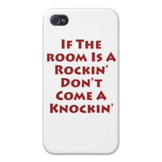 If The Room Is A Rockin' Covers For iPhone 4