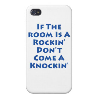 If The Room Is A Rockin' iPhone 4/4S Cases