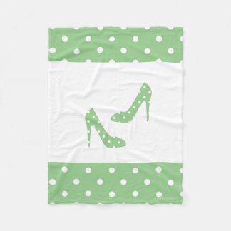 If The Shoe Fits Fleece Blanket