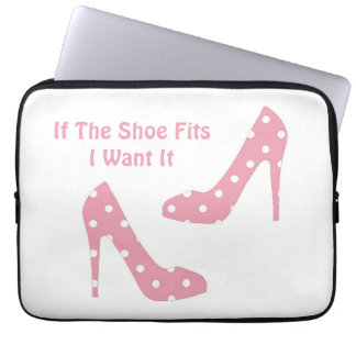 If the shoe fits laptop sleeve