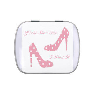 If The Shoe Fits Pink Candy Tin