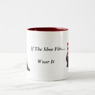 If The Shoe Fits... Two-Tone Coffee Mug