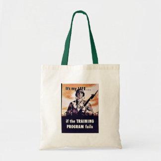 If The Training Program Fails Budget Tote Bag
