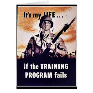 If The Training Program Fails Greeting Card