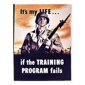 "If The Training Program Fails 8.5"" X 11"" Flyer"