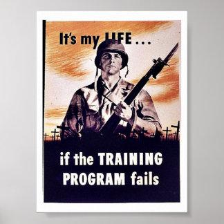 If The Training Program Fails Poster