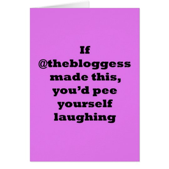 If @thebloggess made this... card