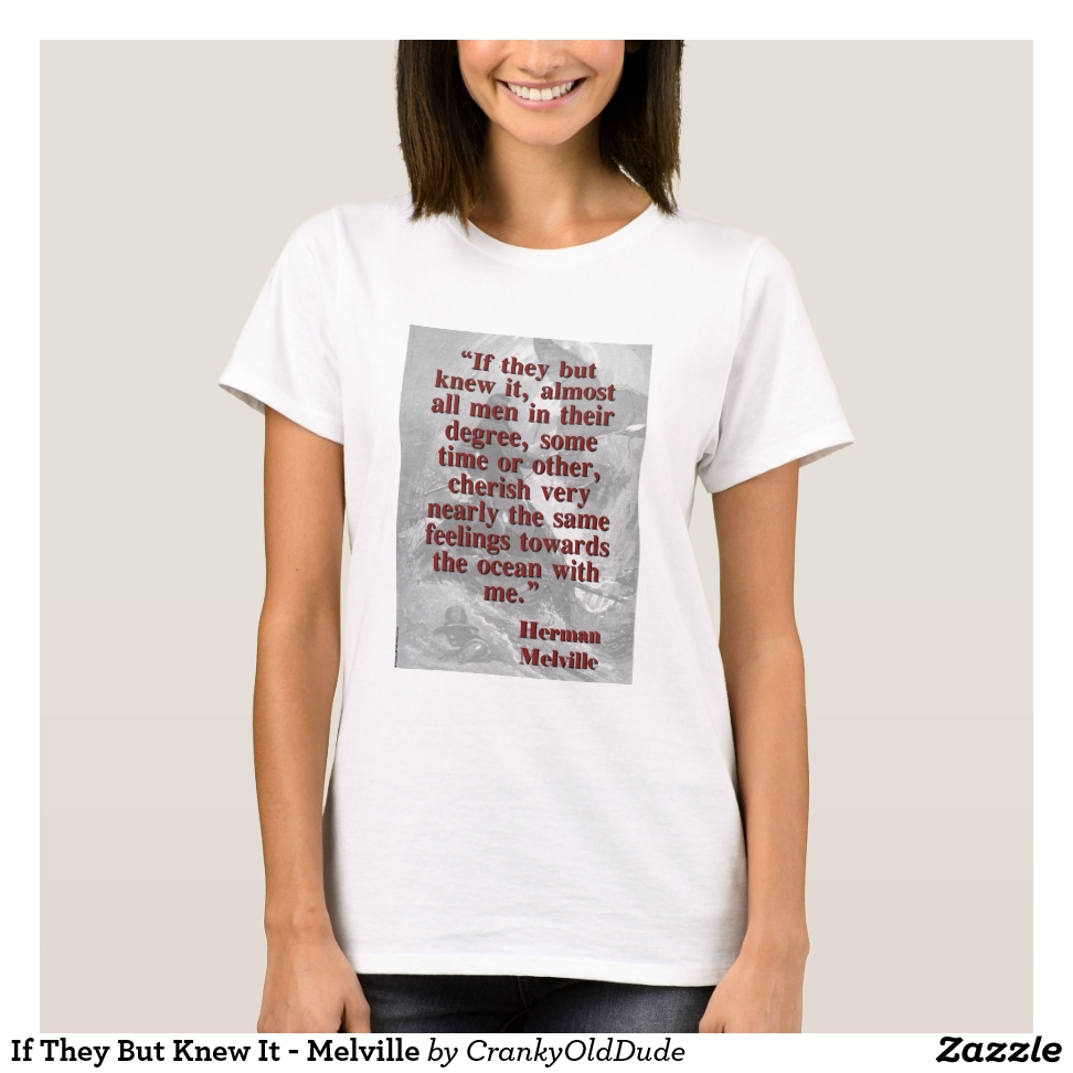If They But Knew It - Melville T-Shirt - Best Selling Long-Sleeve Street Fashion Shirt Designs
